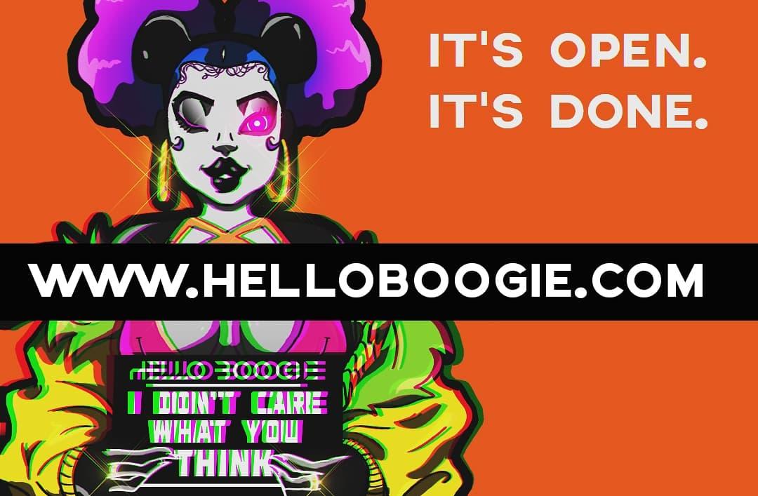 Hello Boogie Logo
